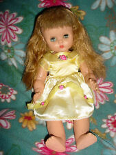 Vtg-Horsman Horseman T-13-Doll-Pinwheel sleep open shut eyes-RUTHIE 15""