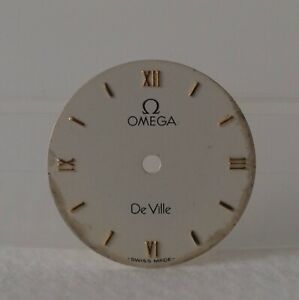 Ladies Omega DeVille White Watch Dial