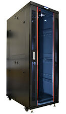 "42U 39"" Deep  IT Network Data Free Standing Server Rack Cabinet Enclosure"