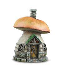 Mushroom Cottage Fairy House for Fairy Garden or Miniature Garden Fiddlehead
