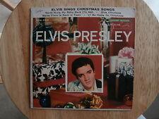 ELVIS PRESLEY~SINGS CHRISTMAS SONGS~VG++~EP RECORD AND SLEEVE~RCA ~ POP 45