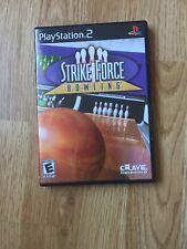 Strike Force Bowling PS2 Sony PlayStation 2 Cib Game XP1