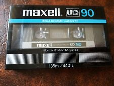 CASSETTE TAPE BLANK SEALED - 1 x (one) MAXELL UD 90 [1982-84]  made in Japan