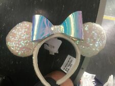 Minnie Mouse Bow Iridescent Sequence Disneyland Exclusive New Release