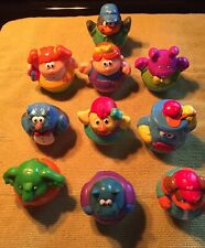 2003-2004 HASBRO PLAYSKOOL WEEBLE WOBBLE LOT OF 10