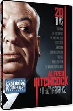 Alfred Hitchcock: 20 Films A Legacy of Suspense DVD 4-Disc & Bonus Documentary
