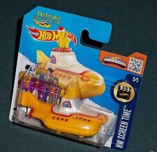 1 HOT WHEELS-The Beatles. Yellow Sumarine. submarino amarillo. Rare. Dificil.top