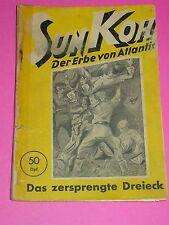 SUN KOH - ROMANHEFT NR. 7 / PLANET VERLAG 1949 -1953 / FREDER VAN HOLK