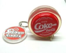 Coca-Cola Yo Yo professionnel Russell Spinner avec Fob 1980 S RARE.
