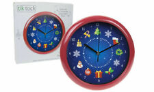 Musical Singing Wall Clock Christmas Festive Xmas Home Office Decoration Gift