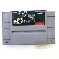 Batman Returns - Super Nintendo SNES Game - Tested - Working - Authentic!