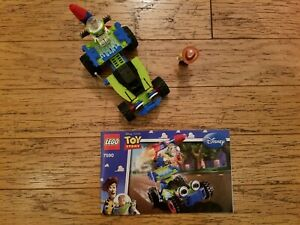 LEGO Toy Story 7590 Woody & Buzz Rescue 30070 Alien Space Ship COMPLETE manual