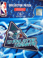 """Official Licensed NBA Charlotte Hornets """"Blaze"""" Fan Iron or Sew On Patch"""