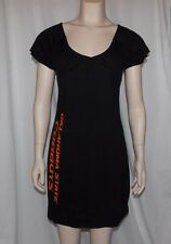 NWOT NCAA OKLAHOMA STATE COWBOYS Little Black Tunic Dress JUNIOR MEDIUM Klutch