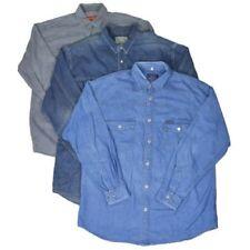 Camisas casuales de hombre de manga larga sin marca