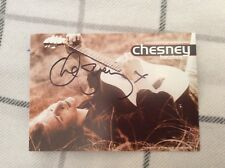 CHESNEY HAWKES (THE ONE AND ONLY) SIGNED PUBLICITY CARD