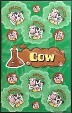 Dr. Stinky's Scratch & Sniff Stickers - Cow - Mint Condition!!