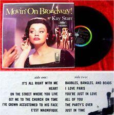 LP Kay Starr Movin On Broadway