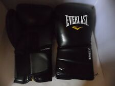 EVERLAST  PROTEX 2 EVERCOOL BOXING GLOVES 14 OZ BAG SPARRING USED WITH FAULT