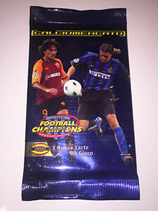 FOOTBALL CHAMPIONS | CALCIOMERCATO 2002 2003 BOOSTER PACK SEALED Wizards WOTC