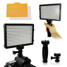 308 LED Video Light Lamp for Canon Nikon Pentax DV Camcorder