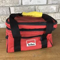 Vintage Marlboro Insulated Red Lunchbox Lunch Bag Travel Food Drink Cooler