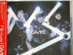 Perfume GAME  CD + DVD  First Limited edition Album TECHNO POP Japan USED
