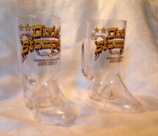 Set of Two Dixie Stampede Plastic Boot Mugs