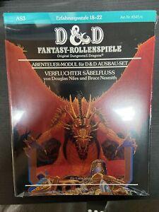 D&D - Verfluchter Säbelfluss - Dungeons & Dragons - AS3 - Deutsch New OVP