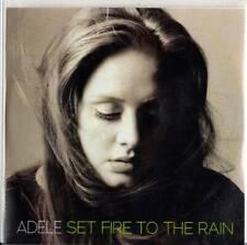 Adele 1trk PROMO CD Set Fire To The Rain