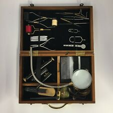 Vintage Fishing Stillwater Professional Tool Kit in Wooden Box 29021 CP