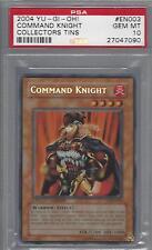 YuGiOh MISPRINT Command Knight PSA 10 GEM MINT Super Secret Rare ERROR CT1-EN003