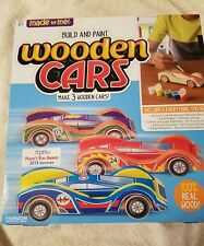 Made By Me-Wooden Cars Build & Paint
