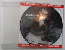 BUDDY HOLLY– PEGGY SUE- PICTURE DISC- ncb AR 30027- NEAR MINT LP & DISPLAY MOUNT