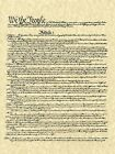 We The People US Constitution HD POSTER