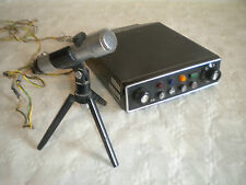 Vintage Transmitter and microphone Philips french STFP poss for Taxis