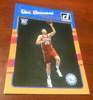 2016-17 Donruss Ben Simmons Rookie Card RC #151 76ers KL RARE Invest PSA Mint??