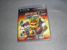 Ratchet & Clank All 4 One PlayStation 3 PS3 MINT COMPLETE TESTED & WORKING Game