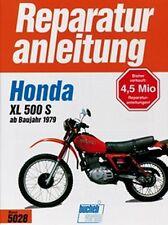 WERKSTATTHANDBUCH REPARATURANLEITUNG WARTUNG 5028 HONDA XL 500 S ab BAUJAHR 1979