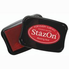 BLAZING RED - Tsukineko - StazOn Solvent Ink Pad