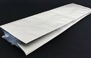 100 x 'ZERO' Mylar Bags with Side Gusset – 5mil (127 micron) Food Saver