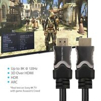 Active Optical 10K 8K@120Hz HDMI AOC 2.1 Cable Ultra HD For Video Meeting System