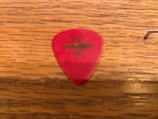 Eric Clapton Guitar Pick : E.C. In Korea '97 red concert