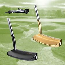 Pair of Williams FW11B Williams F1 Racing Golf Putters 24K Gold and Black PVD RH