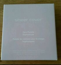 Sheer Cover Face Palette Sophisticate. EyeShadow/Lip Gloss/Blush. New&Sealed