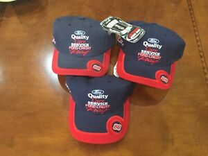 Vintage Nascar 1998 Dale Jarrett Ford Quality Care RACING HAT CAP  NWT Chase