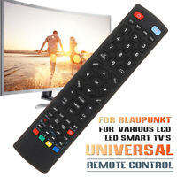 Replacement Universal Remote Control For Blaupunkt LCD LED 3D HD Smart TV v ︿ ☍