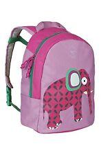 Lassig Children's Backpack Briefcase Wildlife, Elephant/Pink