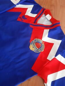 Retro Yugoslavia Jersey Erima Shirt Jugoslavija Trikot Adidas West Germany Vtg
