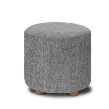 Unbranded 100% Linen Upholstery Fabric Ottomen